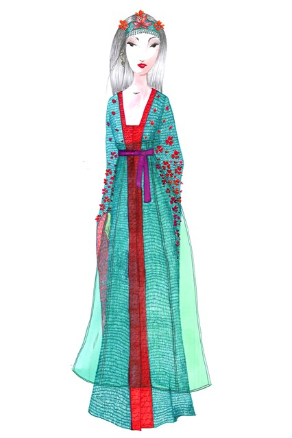 Disney Princess Harrod's Mulan Missoni