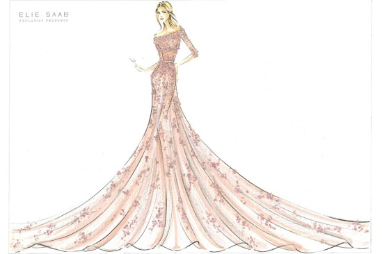 Disney Princess Harrod's Aurora Sleeping Beauty Elie Saab