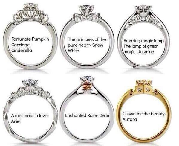 beauty and the beast engagement ring My Web Value