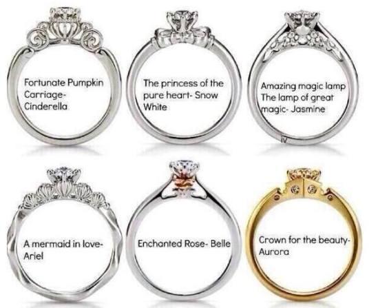 Disney Engagement Rings